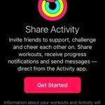 Share Activity Get Started screen