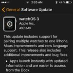 watchOS 3 Software Update