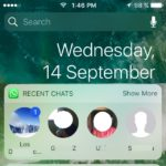 WhatsApp Messenger Updates With Widget, Siri Functionality And New Call Answering Feature For iOS 10