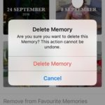 deleting iphone memory