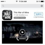 download this war of mine from app store