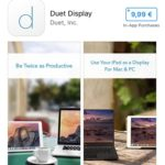 Duet Display 50% Sale For A Limited Time Only ($19.99 ->$9.99)