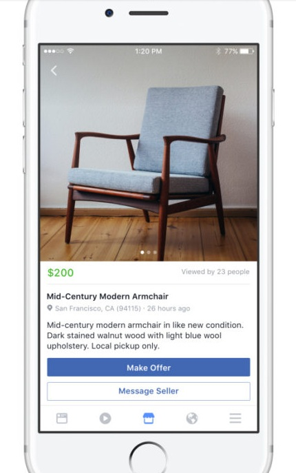how to install facebook marketplace on iphone 6