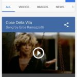 Google search for Youtube song