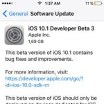 iOS 10.1 Developer and Public Beta 3 Now Available For Testing