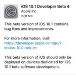 iOS 10.1 Beta 4 Out For Developers And General Public
