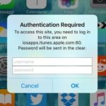 "How To Handle The iPhone ""Authentication Required – Password Will Be Sent In The Clear"" Prompt"