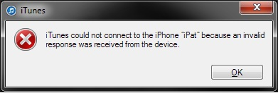 How to Fix: iTunes Not Connect to iPhone