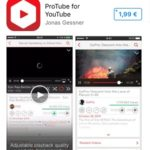 Protube app store download page
