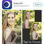 tadaa slr app store page