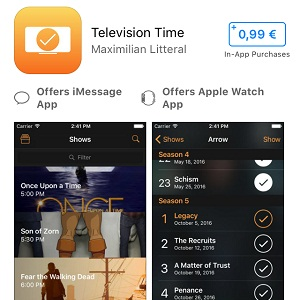 Television Time for iOS Sale