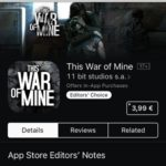 This War Of Mine For iOS Discounted From $14.99 -> $3.99