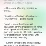 weather underground hurricane warning
