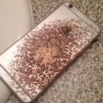 burned iphone 6s device