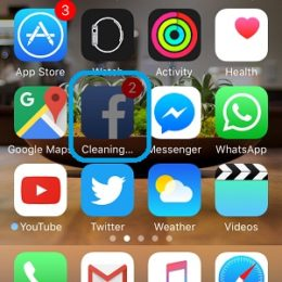 iOS automatically cleaning cache from Facebook app