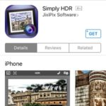 Simply HDR App Store page