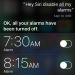 Did You Know That You Can Ask Siri To Cancel All Your Alarms At Once?