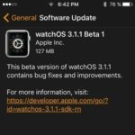 watchOS 3.1.1 Beta 1 Brings Bug Fixes And Under The Hood Improvements