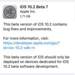 iOS 10.2 Beta 7 Available For Download