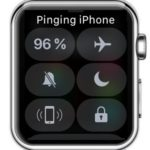 pinging iphone from apple watch