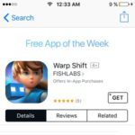 Warp Shift – Last Free App Of The Week In 2016