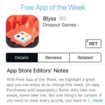 Last Chance To Download Blyss Free From The App Store