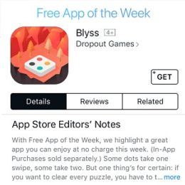 blyss free app of the week
