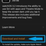 download and install watchos 3.2