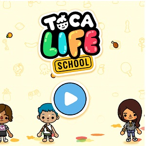 toca life school iphone home screen