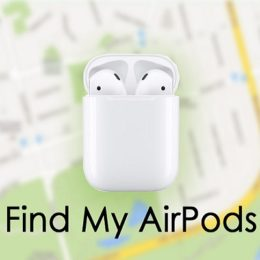 find my airpods feature