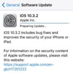 iOS 10.3.2 Brings Bug Fixes And Security Improvements