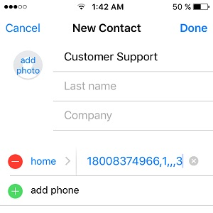 The iPhone's Automatically Dial Extensions Hidden iOS