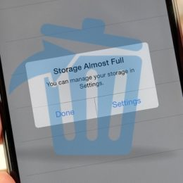 iphone storage almost full prompt