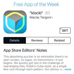 klocki free app of the week deal