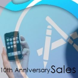 10th iPhone anniversary App Store sales.