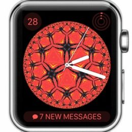 apple watch kaleidoscope watch face