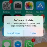 iOS 11 Developer Beta 2 Update 1 Hints Imminent Release Of Public Beta Version