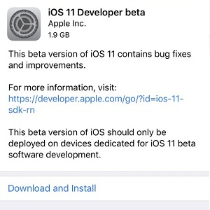 How To Download And Install iOS 11 Developer Beta Free Of