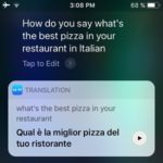 Siri Is Now Able To Translate And Speak Out Phrases In iOS 11