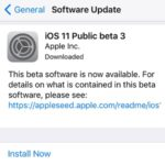 iOS 11 Public Beta 3 Available For Update To All iPhone And iPad Owners