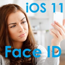 iPhone 8 iOS 11 Face ID feature
