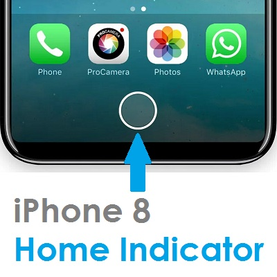 free shipping 4b56e 965f5 iPhone 8 Digital Home Indicator To Replace Physical Home Button ...