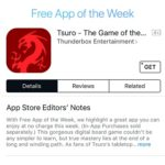 Tsuro Goes Free As App Store's App Of The Week (Save $2.99)
