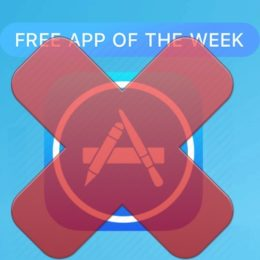 app store free app of the week discontinued