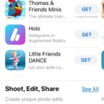 apps with ar support featured in app store