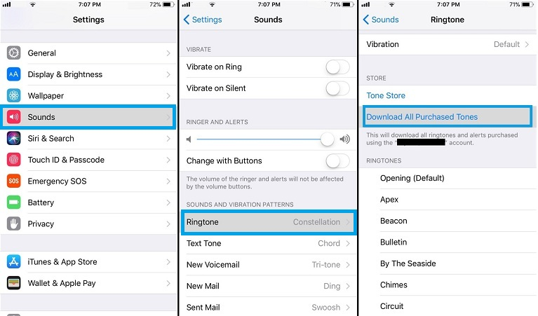 How To Download All Ringtones Ever Purchased From iTunes On iPhone