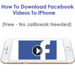 how to download facebook videos to iphone