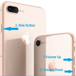 how to force reboot iphone 8 and iphone 8 plus