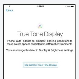 iphone true tone display feature