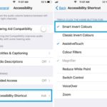 setting up smart invert colors accessibility shortcut